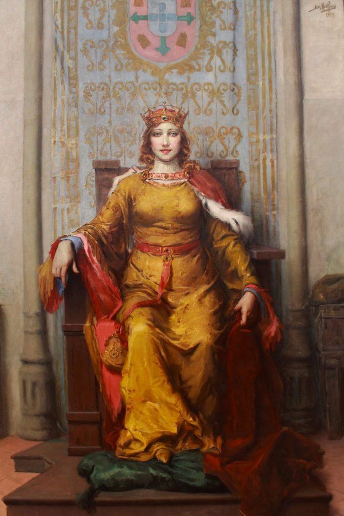 Queen Leonor of Portugal by José Malhoa