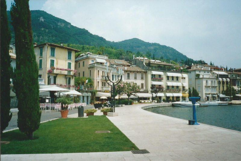 The waterfront at Salò, Lake Garda